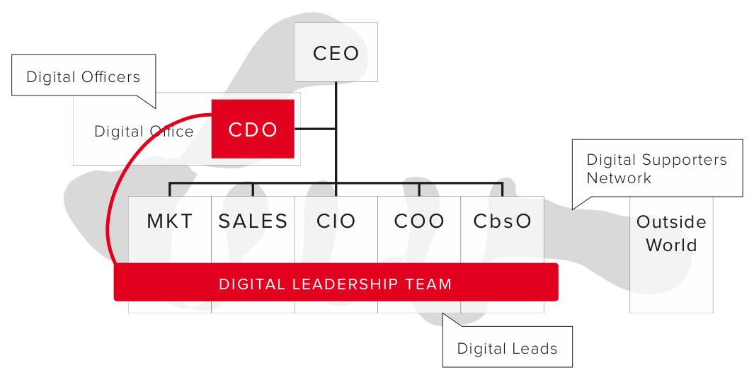 Digital Leadership Team